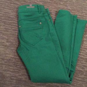Lauren Conrad green pants